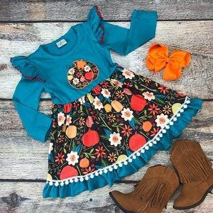 Blue Pumpkin Dress